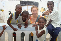 Volunteer-french-and-community-in-senegal